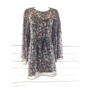 Women's Zara Trafaluc Floral Dress Size M